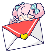 Daily life of girls sticker #648191