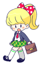Daily life of girls sticker #648204