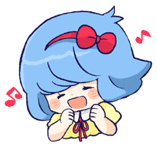 Daily life of girls sticker #648214