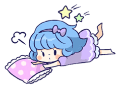 Daily life of girls sticker #648217