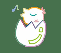 cute colorful sticker #648276