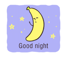 banana's feelings (English version) sticker #648619