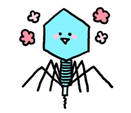 bacteriophage sticker #649489