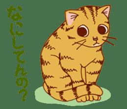 laid-back cat Chi-chan vol.2 sticker #651955