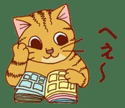 laid-back cat Chi-chan vol.2 sticker #651979
