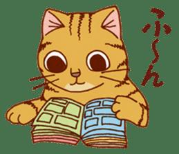 laid-back cat Chi-chan vol.2 sticker #651980