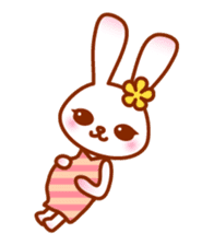Rabbit Mother is very busy sticker #652867