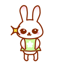 Rabbit Mother is very busy sticker #652872