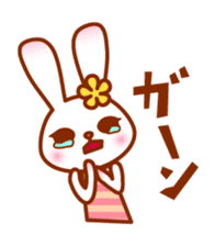 Rabbit Mother is very busy sticker #652884