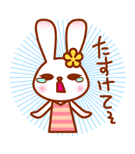 Rabbit Mother is very busy sticker #652887