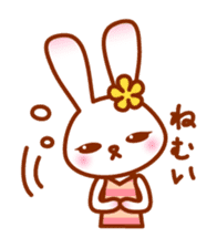 Rabbit Mother is very busy sticker #652890