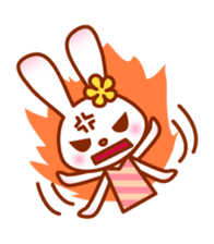 Rabbit Mother is very busy sticker #652898