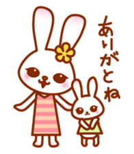 Rabbit Mother is very busy sticker #652903