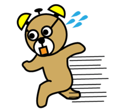 kumacchi sticker #653374