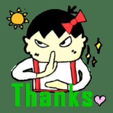 """walnut-""""kurumi""""-chan sticker #653511"""