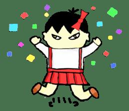 """walnut-""""kurumi""""-chan sticker #653512"""
