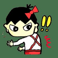 """walnut-""""kurumi""""-chan sticker #653513"""