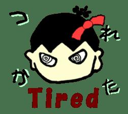 """walnut-""""kurumi""""-chan sticker #653520"""
