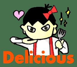 """walnut-""""kurumi""""-chan sticker #653521"""