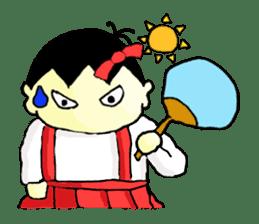 """walnut-""""kurumi""""-chan sticker #653528"""
