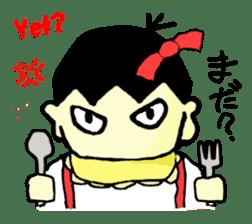 """walnut-""""kurumi""""-chan sticker #653530"""