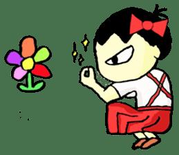 """walnut-""""kurumi""""-chan sticker #653531"""
