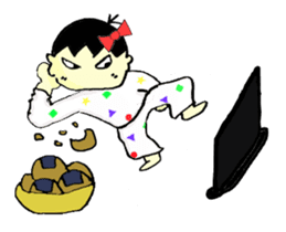 """walnut-""""kurumi""""-chan sticker #653538"""
