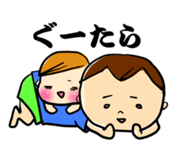 monta and mame sticker #653708