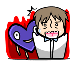 Every day of Heart-Chan sticker #654906