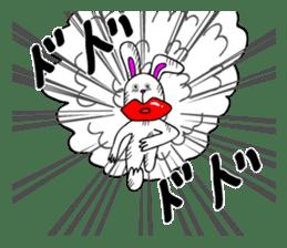 Atsuo the rabbit sticker #655187