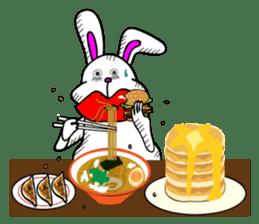 Atsuo the rabbit sticker #655217