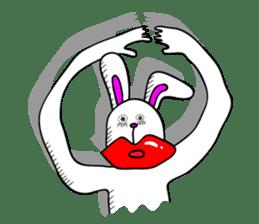 Atsuo the rabbit sticker #655224