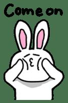 Acchan of rabbit English version sticker #655827