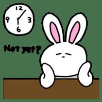 Acchan of rabbit English version sticker #655830