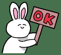 Acchan of rabbit English version sticker #655834