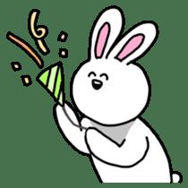 Acchan of rabbit English version sticker #655839