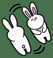 Acchan of rabbit English version sticker #655856