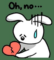 Acchan of rabbit English version sticker #655861