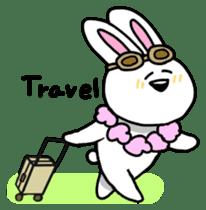 Acchan of rabbit English version sticker #655863