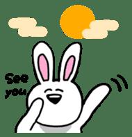Acchan of rabbit English version sticker #655865