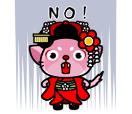 MAIKO-nyan(English) sticker #656389