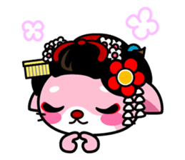 MAIKO-nyan(English) sticker #656397