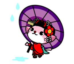 MAIKO-nyan(English) sticker #656403