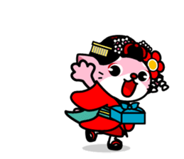 MAIKO-nyan(English) sticker #656424