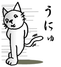 Cat for answering Everyday of the Coro sticker #656792