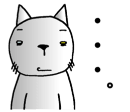 Cat for answering Everyday of the Coro sticker #656798