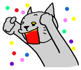 Cat for answering Everyday of the Coro sticker #656810