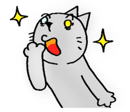 Cat for answering Everyday of the Coro sticker #656815