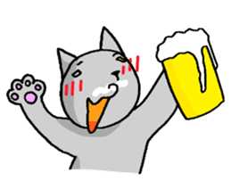 Cat for answering Everyday of the Coro sticker #656821