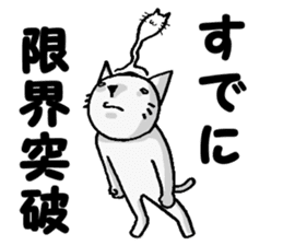 Cat for answering Everyday of the Coro sticker #656824